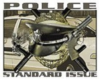 Police Standard Issue Tee Shirt