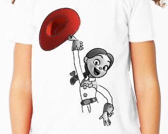 Disney Jessie Toy Story Children's T Shirt