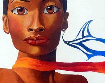 Maximina - Art Print/Wall Print/Poster/Wall Poster/Wall Art/Poster/Print