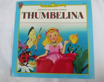 Reduced Vintage Fun To Read Fairy Tales Thumbelina