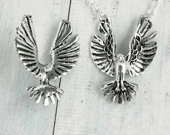 Eagle Bird Pendant Necklace Chain