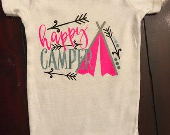 Happy Camper Onesie / Shirt