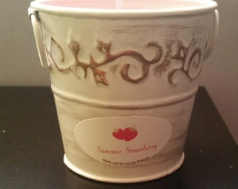 Summer Strawberry Soy Candle