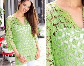 Ladies tunic crochet / custom
