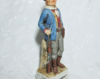 Vintage McCormick Billy The Kid Decanter - Gunfighter Series - With Original Box