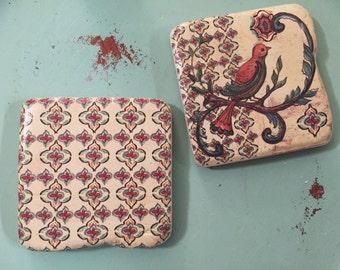 Tile Magnets, set of 2