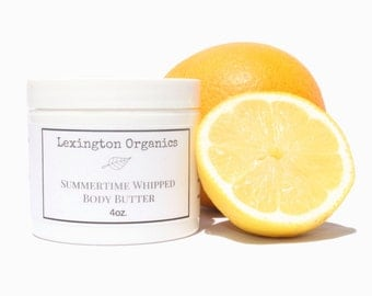 Summertime Whipped Body Butter with Unrefined African Shea Butter