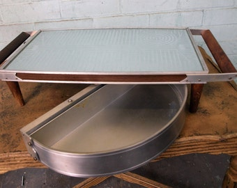 Vintage Hot Plate with Bun Warmer