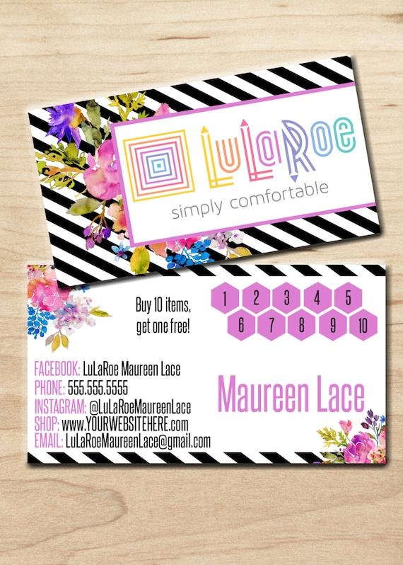 Lularoe business card personalized digital by for Lularoe buisness cards