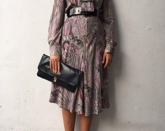 Vintage dress 100% wool IT 42 UK10