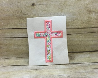 Cross Applique, Cross Embroidery Design Applique