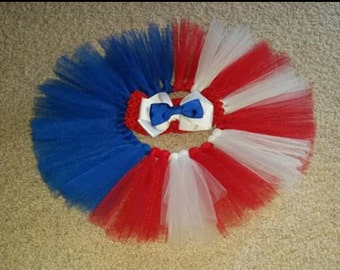 Inspired 4th of July tutu and head band