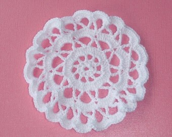 Crochet Mini Doily - Doilies, Home decor, home accents, gifts and favors, lace crochet coasters
