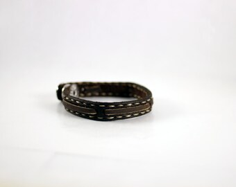 Thin Leather Bracelet