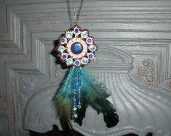 Unique Boho Hippy Vintage Necklace
