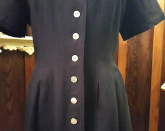 Navy Blue Nurse Dress