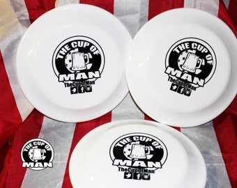 The Cup Of Man. Frisbee