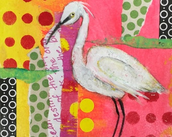 Snowy Egret Envy {ORIGINAL}