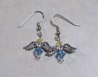 Angel Earrings. Custom made.