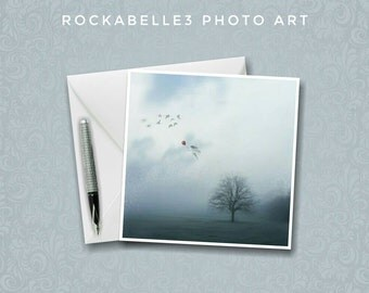 Tree Card   Tree Greeting Card   Tree Photo Card   Surreal Art   Tree Art   Magical Card   Handmade Card   Photo Card   Dark Art Print