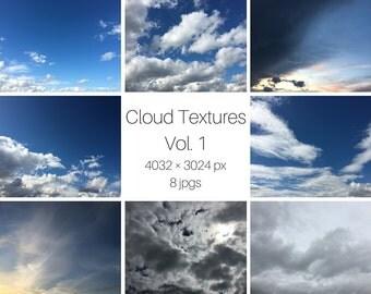 Cloud Photo Textures Vol 1