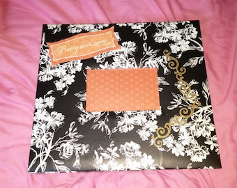 Baby girl scrapbook album 12x12 14 pages