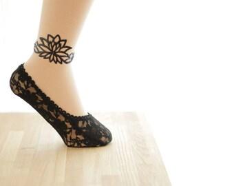 ANKLET OF LOTAS [HASU] Lotus anklet