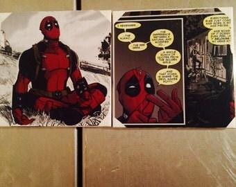 Custom Comic Book Coasters
