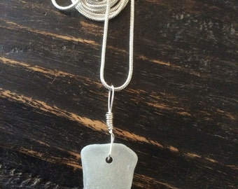 Genuine Handmade Sea Glass Necklace