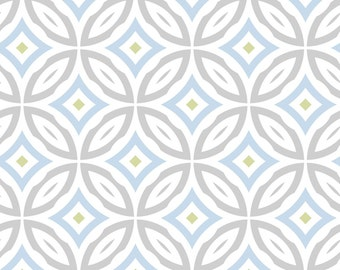 """Concord House Nursery Fabric - Jack Friendship Circles Fabric 100% cotton Fabric by the yard 36""""x44"""" (H38)"""