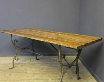 Cast Iron Table, Reclaimed
