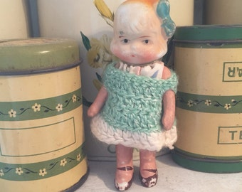 Vintage bisque doll