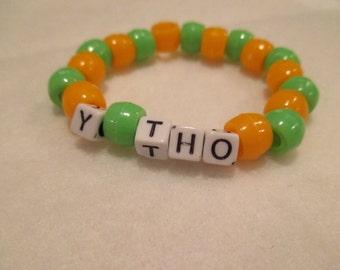 "Meme ""Y Tho"" Bracelet"