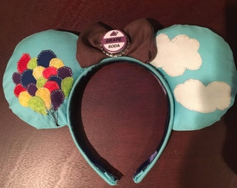 UP inspired mouse ears headband