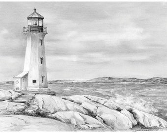 Sketching Made Easy-Lighthouse