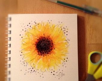 Notebook - sunflower