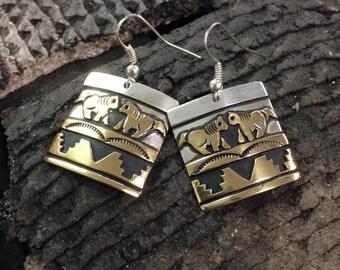 Navajo Tommy Singer Earrings