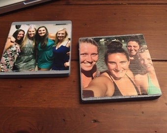 Customized Photo Coasters