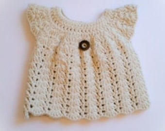 Handmade Crochet Girls Cardigan/Dress/Bolero