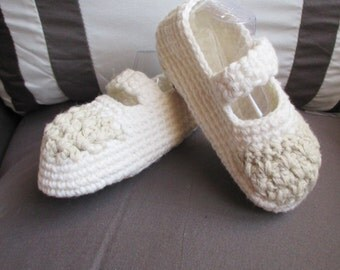 Mary Jane Baby Bootie