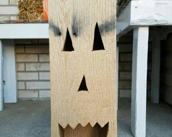 Halloween pallet light box