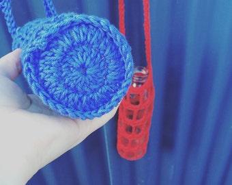 Handmade Crochet Water Bottle Holder Bags