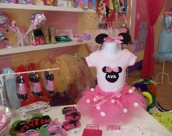 Minnie Mouse Tutu Costume