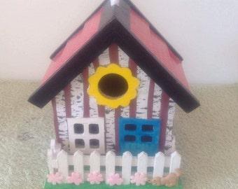 Decorative Bird House,