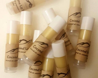SOLD OUT Coconut lime lip balm