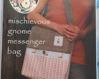 Montessori By Hand (Sew Liberated) Messenger Bag Sewing Pattern