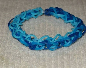Diamond Bracelet - c-clip closing