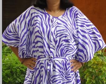 nursing robe, beach cover up, cotton  kaftan,hospital gown, maternity kaftan, cotton caftan ,kaftan dress, plus size clothing OPENING SALE