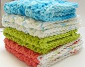 Dishcloth set, Dishcloths, Cotton Dishcloths, Knit Dishcloths, Crochet Dishcloths, Washcloth, Cotton Washcloth, Washcloth set,