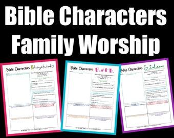 Family Worship {3} Bible Characters - Hezekiah, Ruth and Gideon
